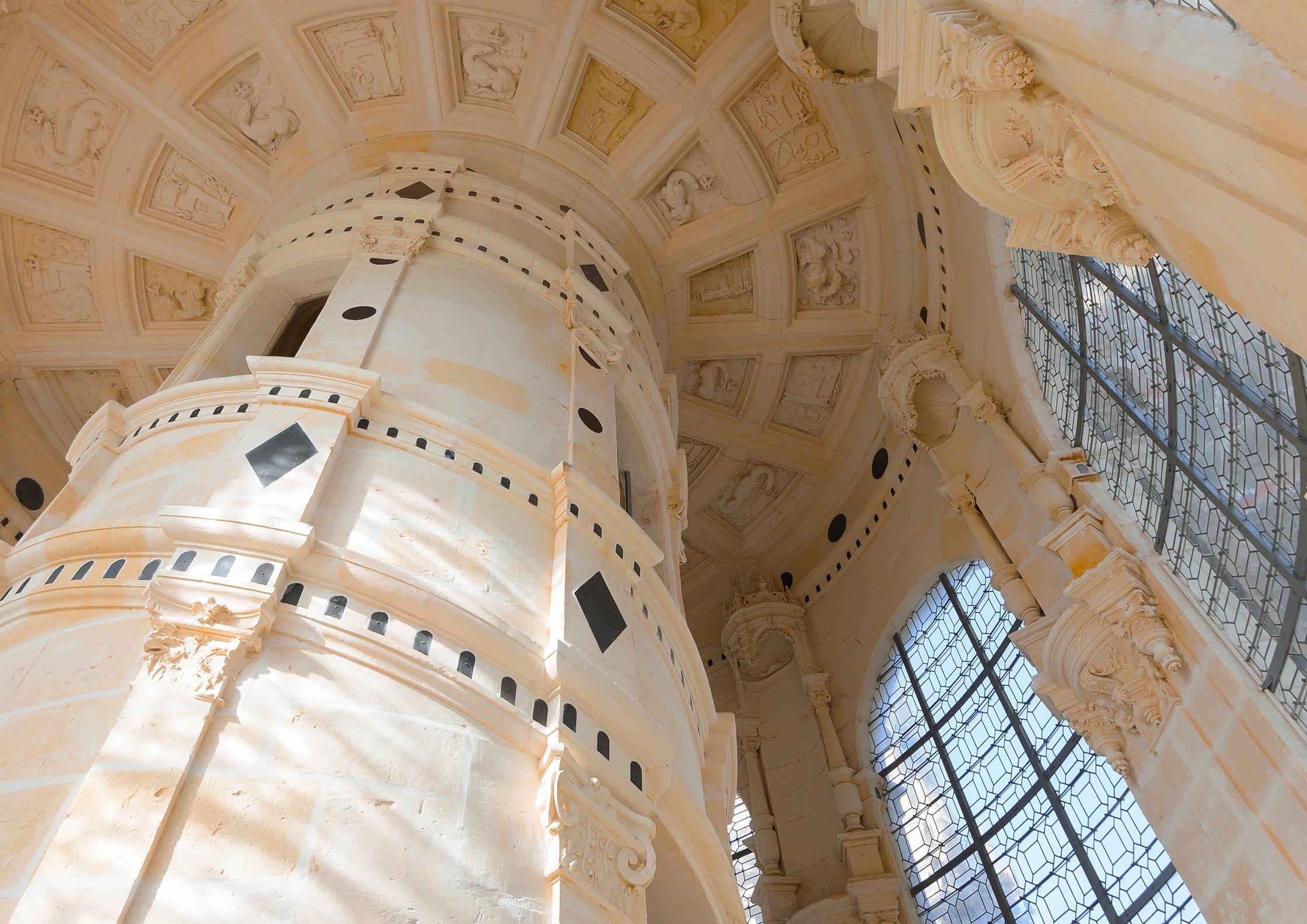 Tour lanterne du château de Chambord