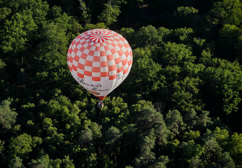 Vol en montgolfière Val de Loire