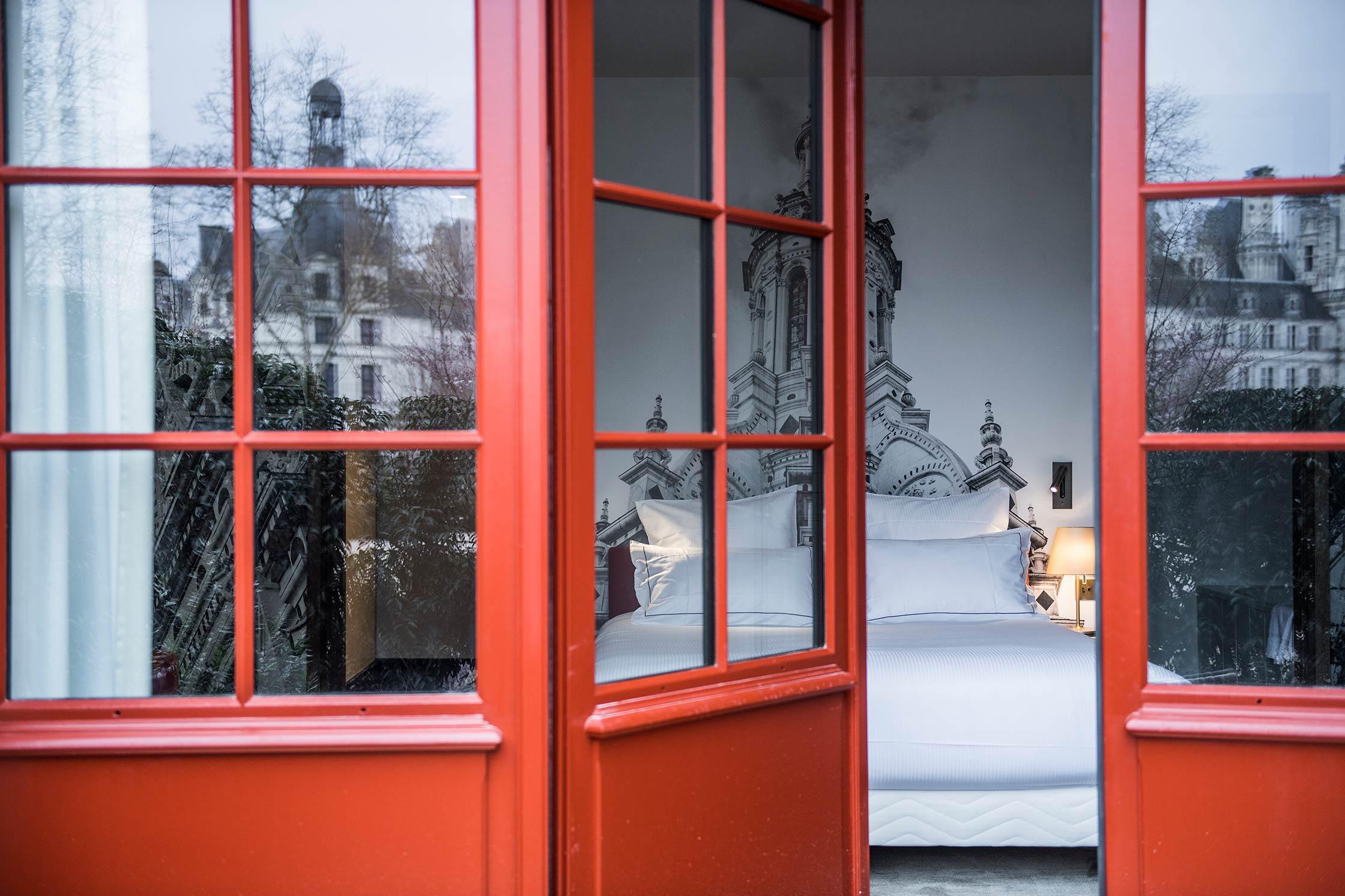 Chambre deluxe Chambord - Offre long séjour