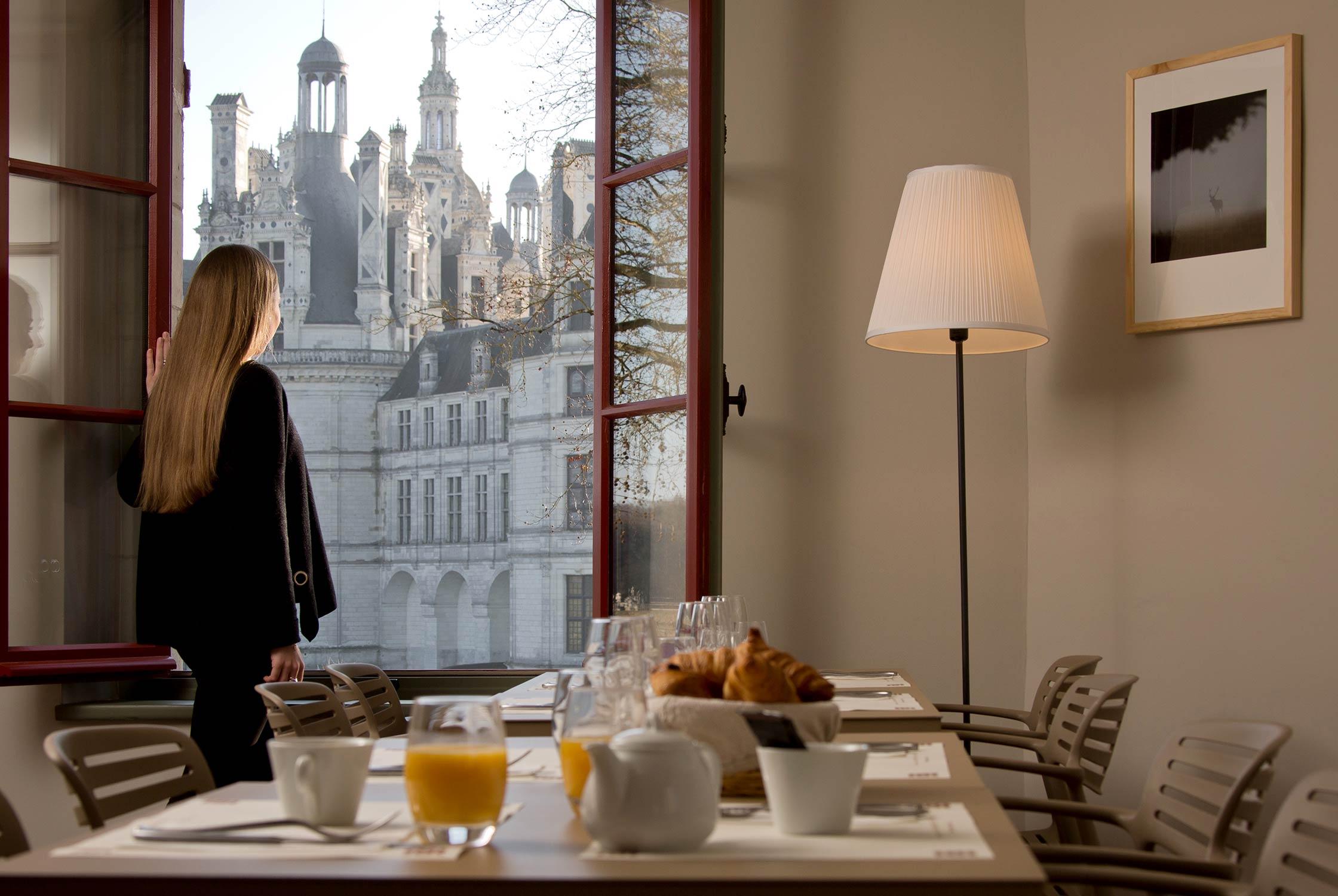 Brasserie Les Armes du Château - Vue sur le château de Chambord
