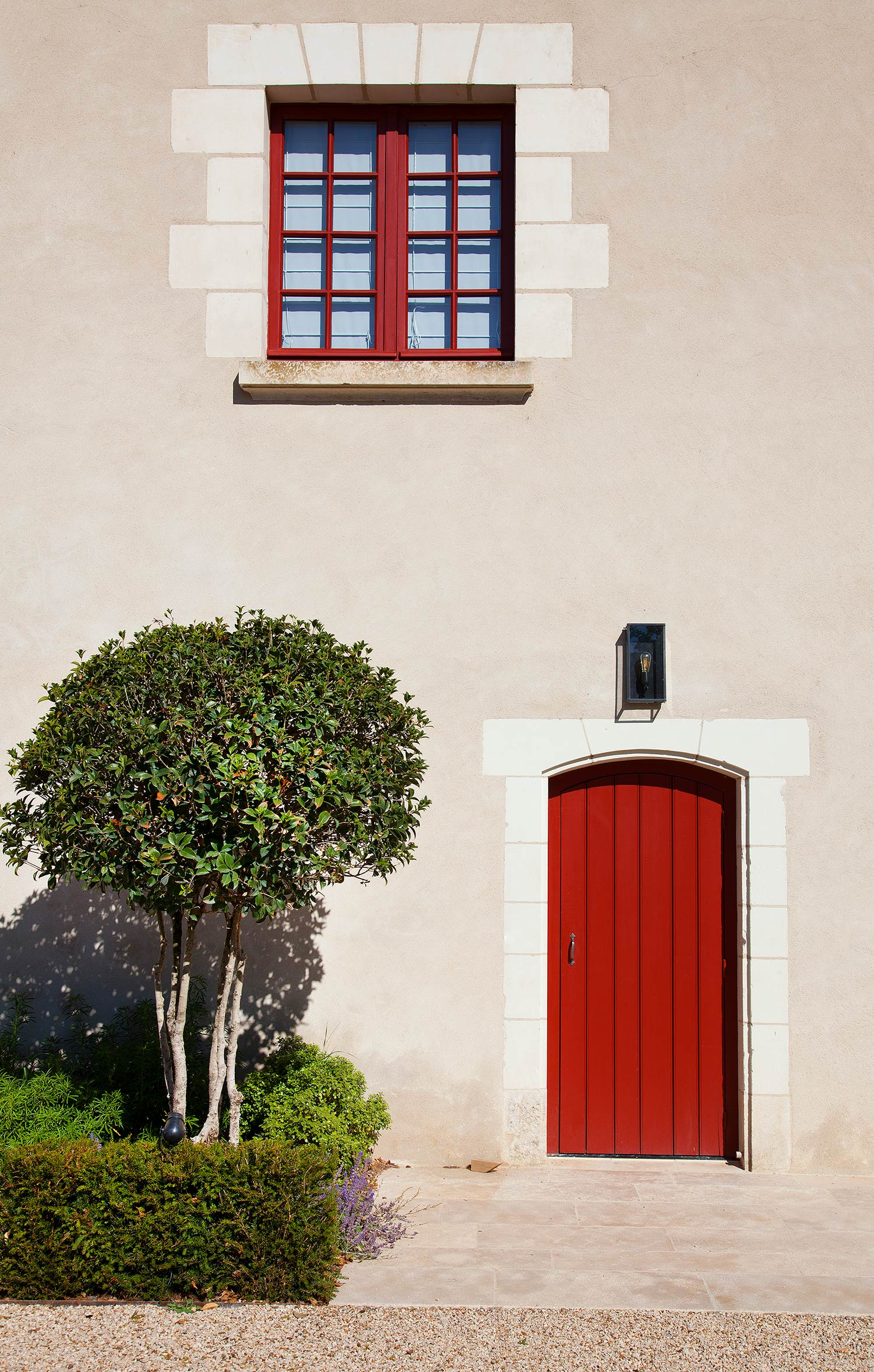Façade d'origine - Hôtel Relais de Chambord