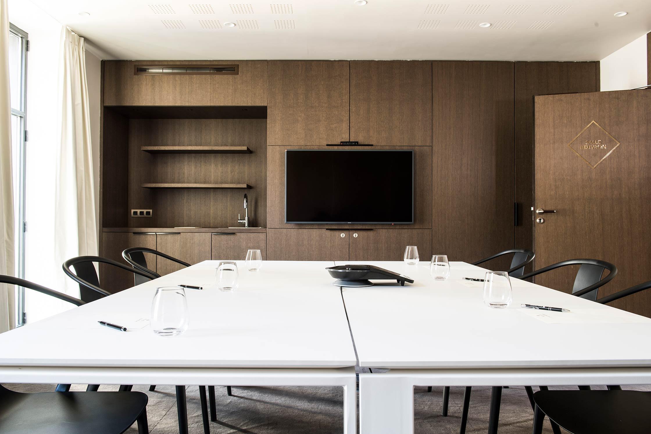 Salle de réunion au Relais de Chambord
