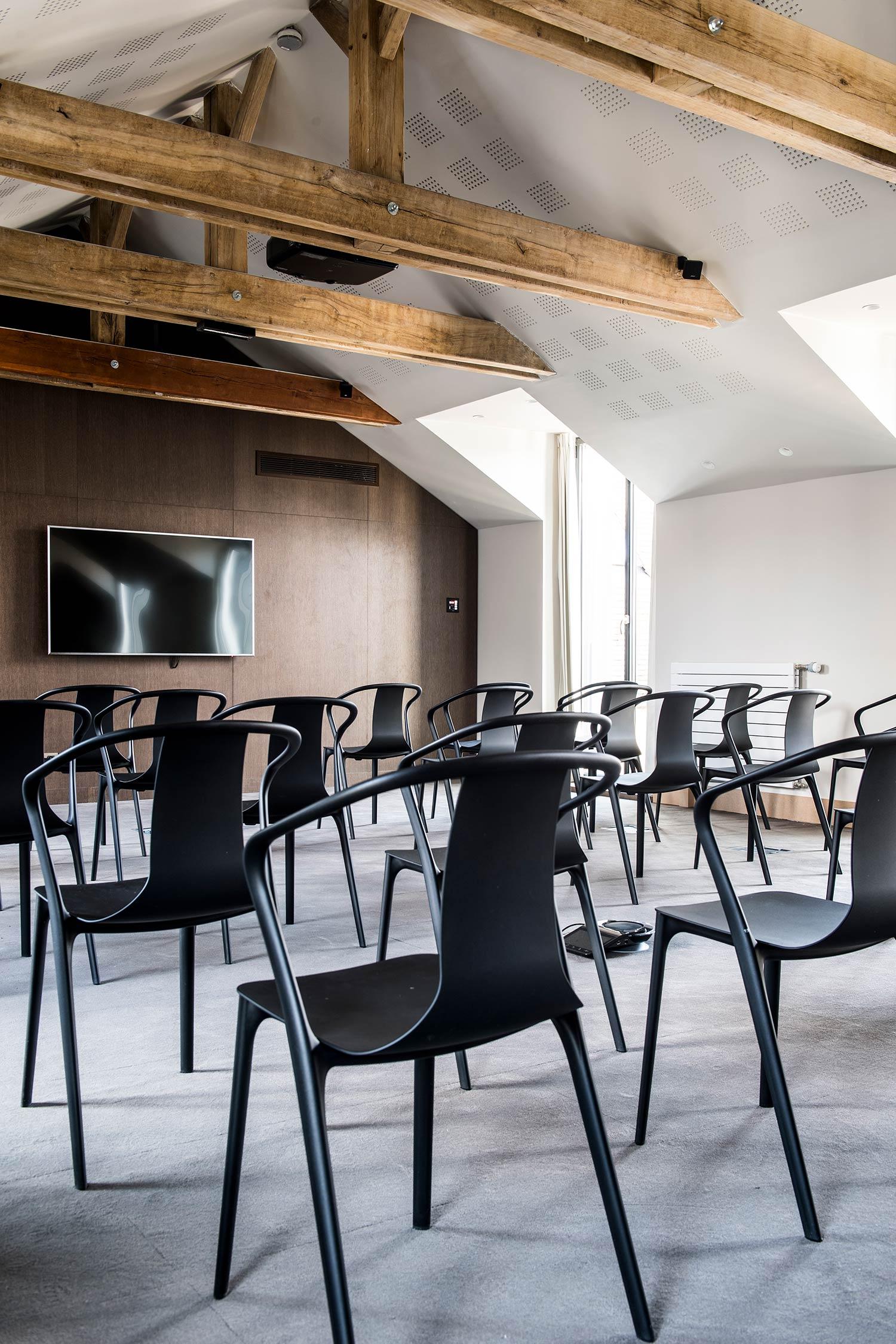 Salle de conférence au Relais de Chambord
