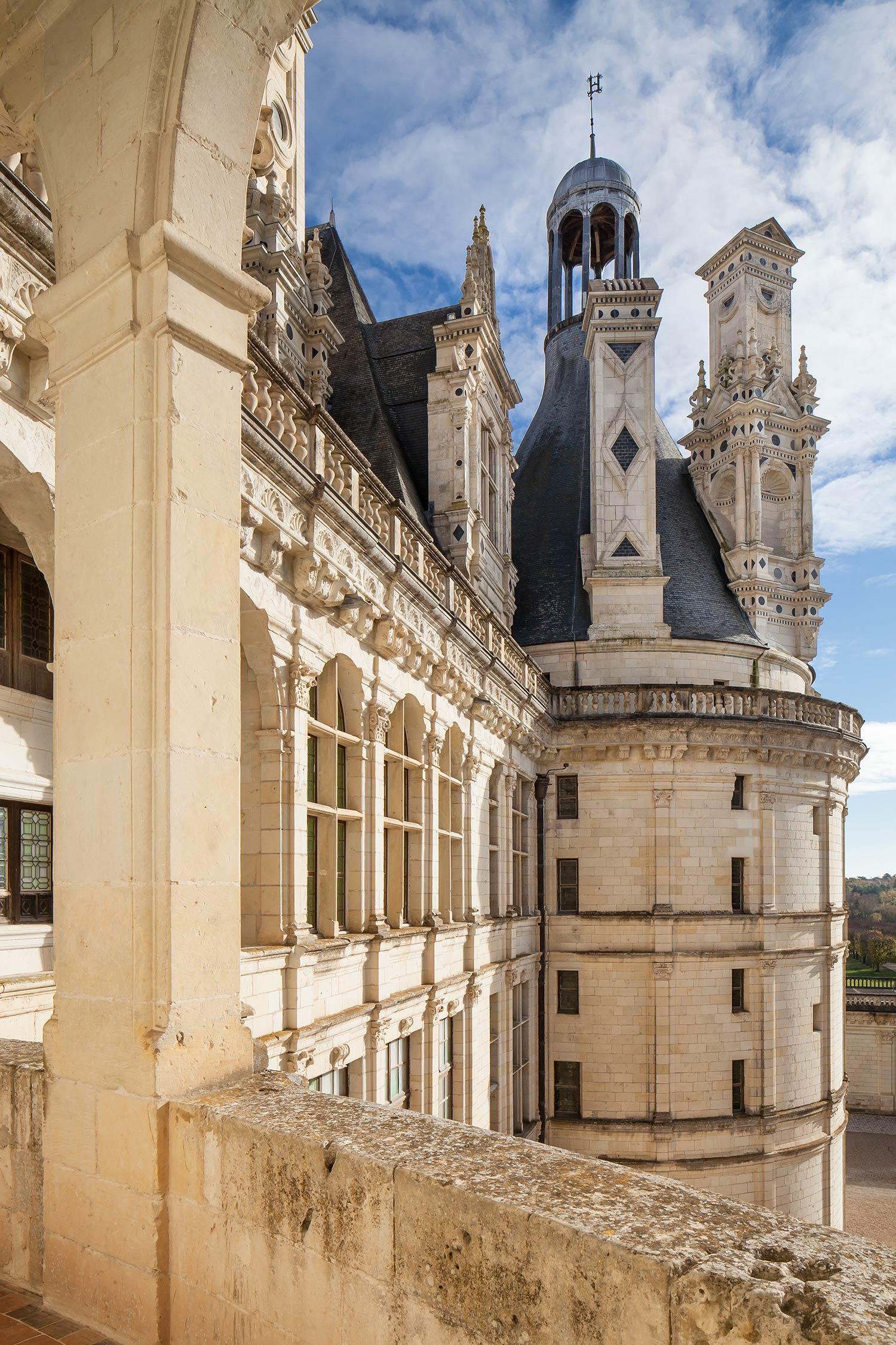Les chateaux de la Loire - Le château de Chambord